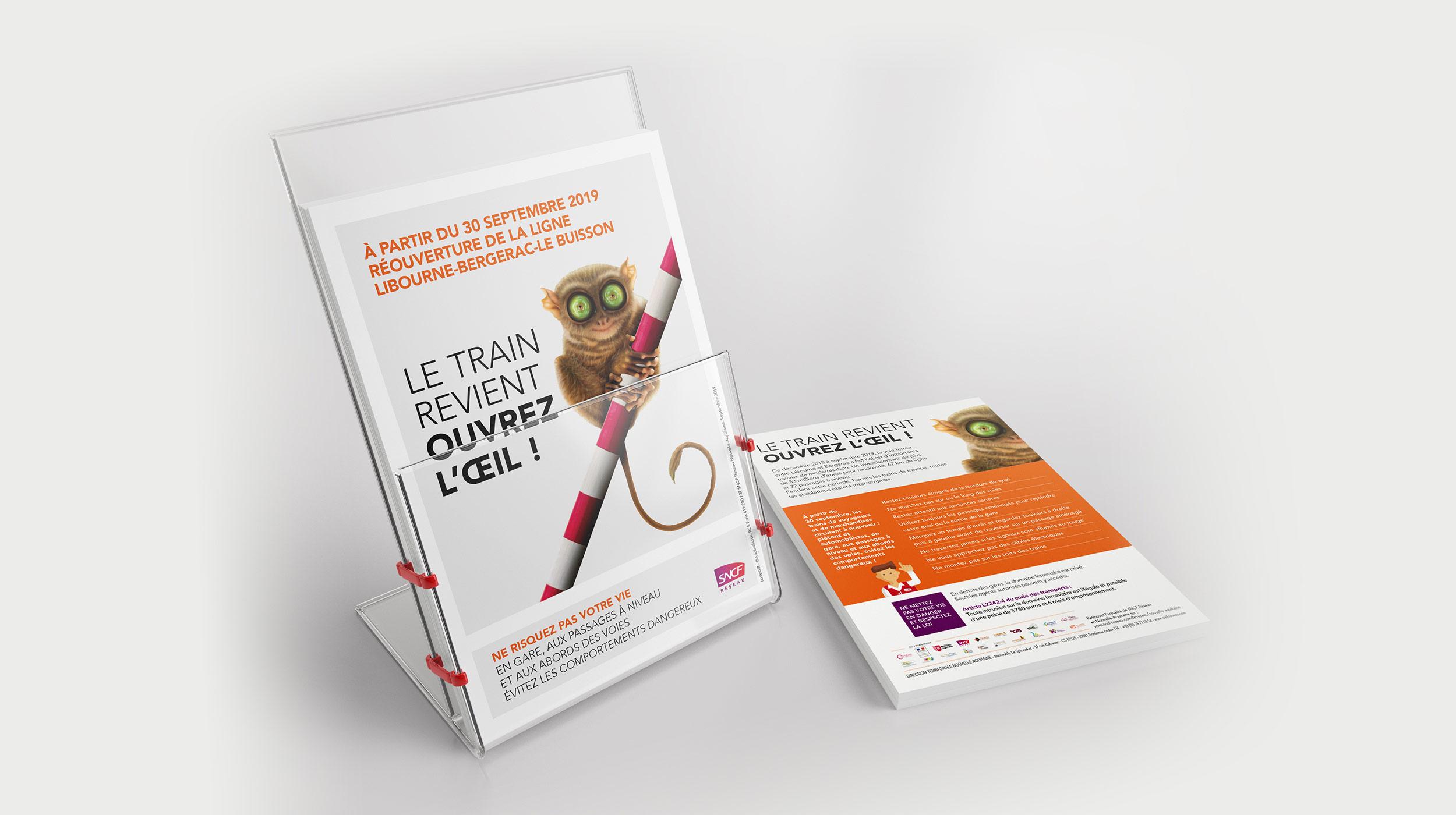 Campagne de sensibilisation thématique - SNCF