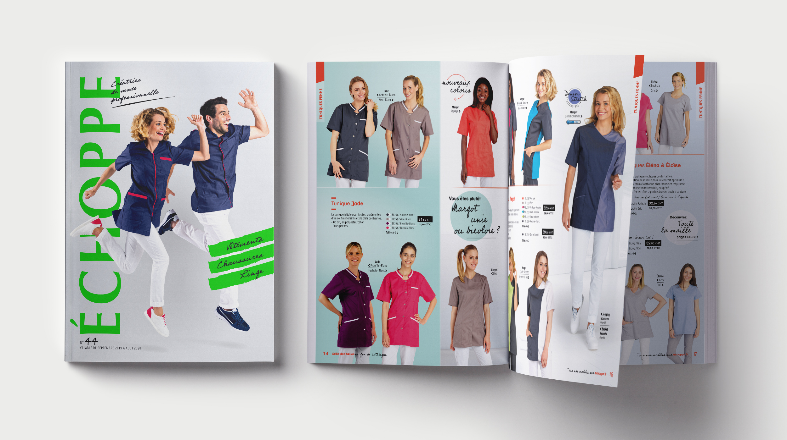 Création Catalogue Echoppe 2020