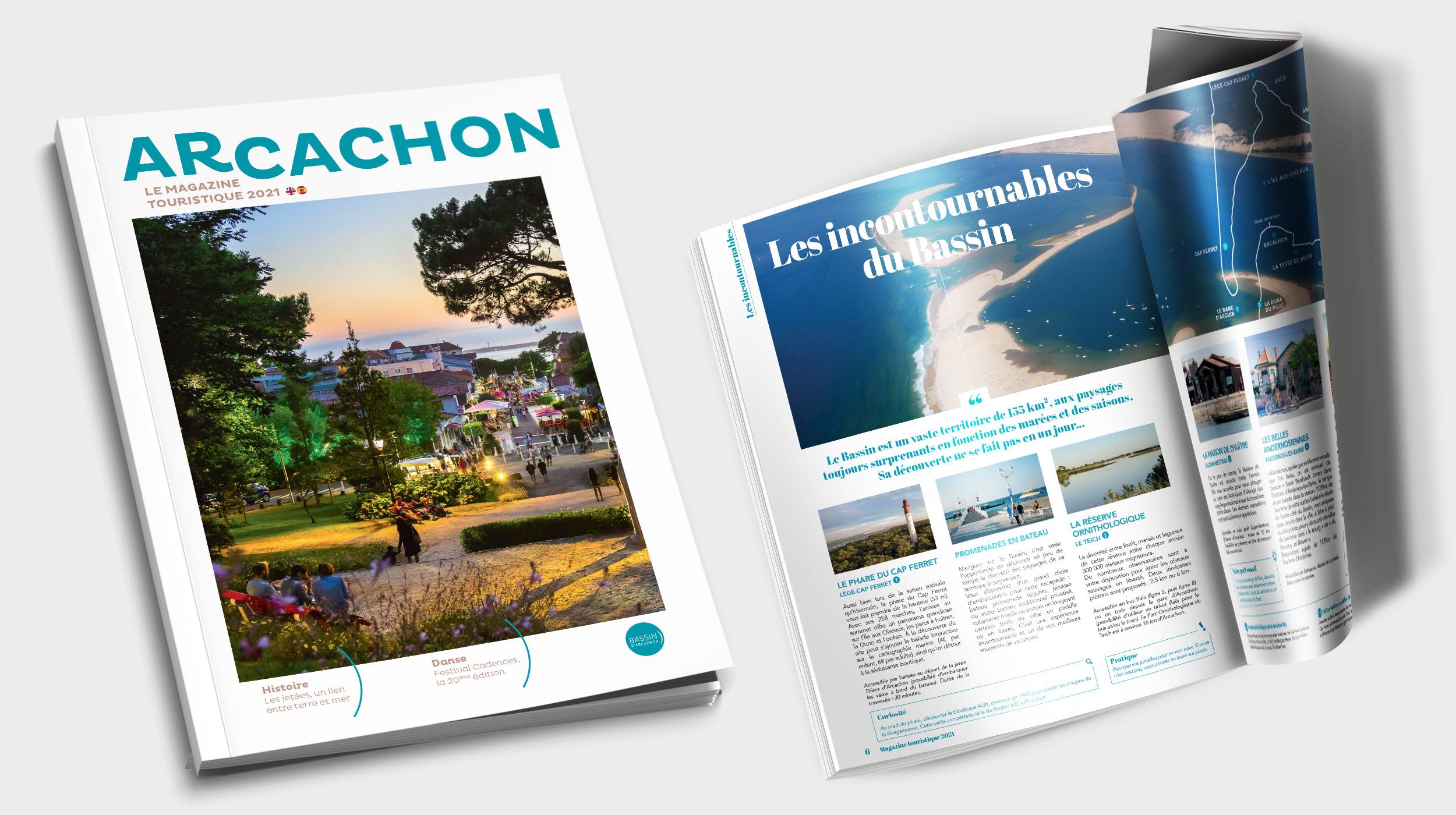 Guide touristique Arcachon 2021