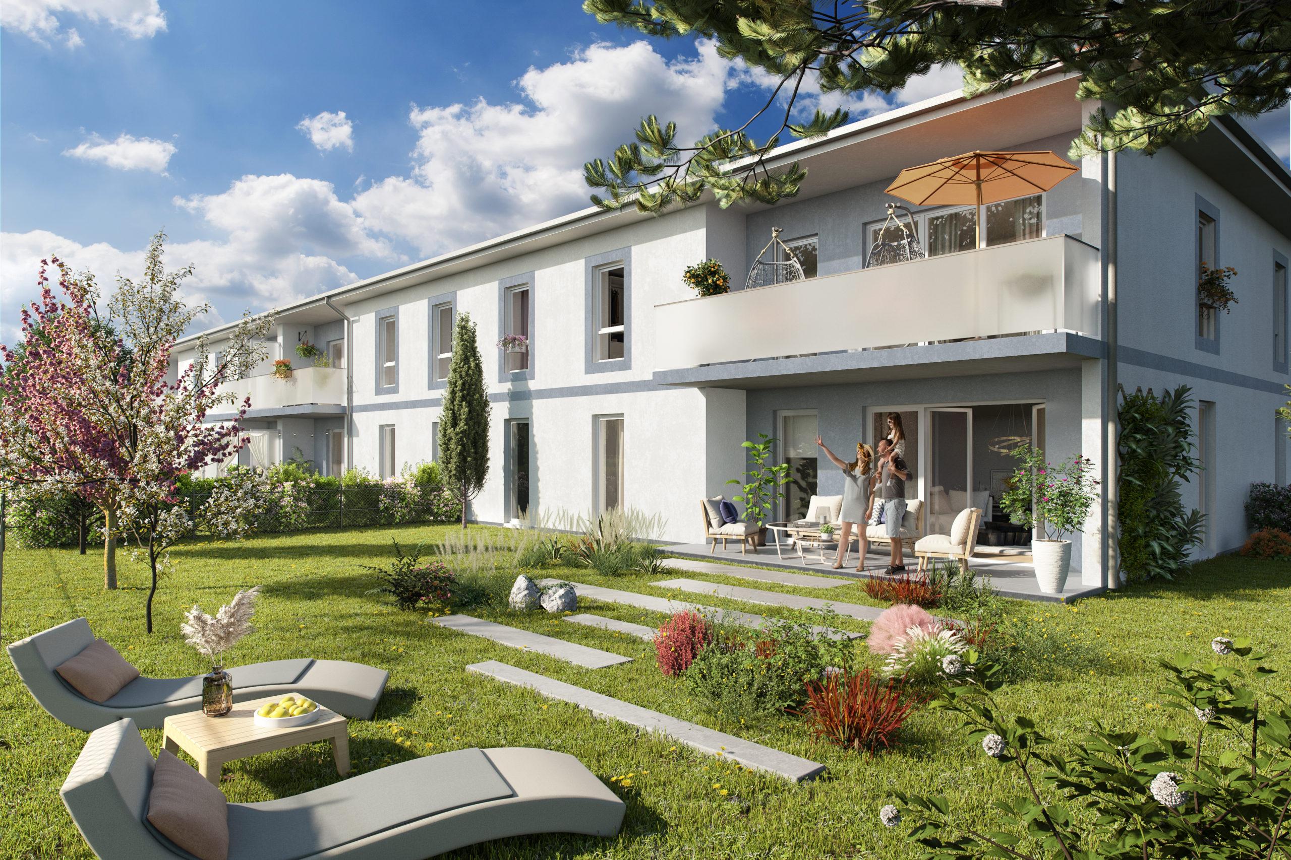 Edouard Denis, mission : susciter l'euphorie autour de leur nouveau programme immobilier