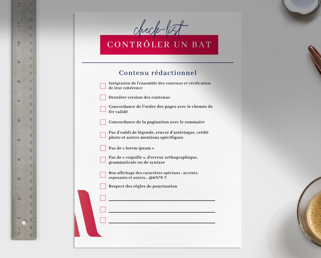 Checklist BAT